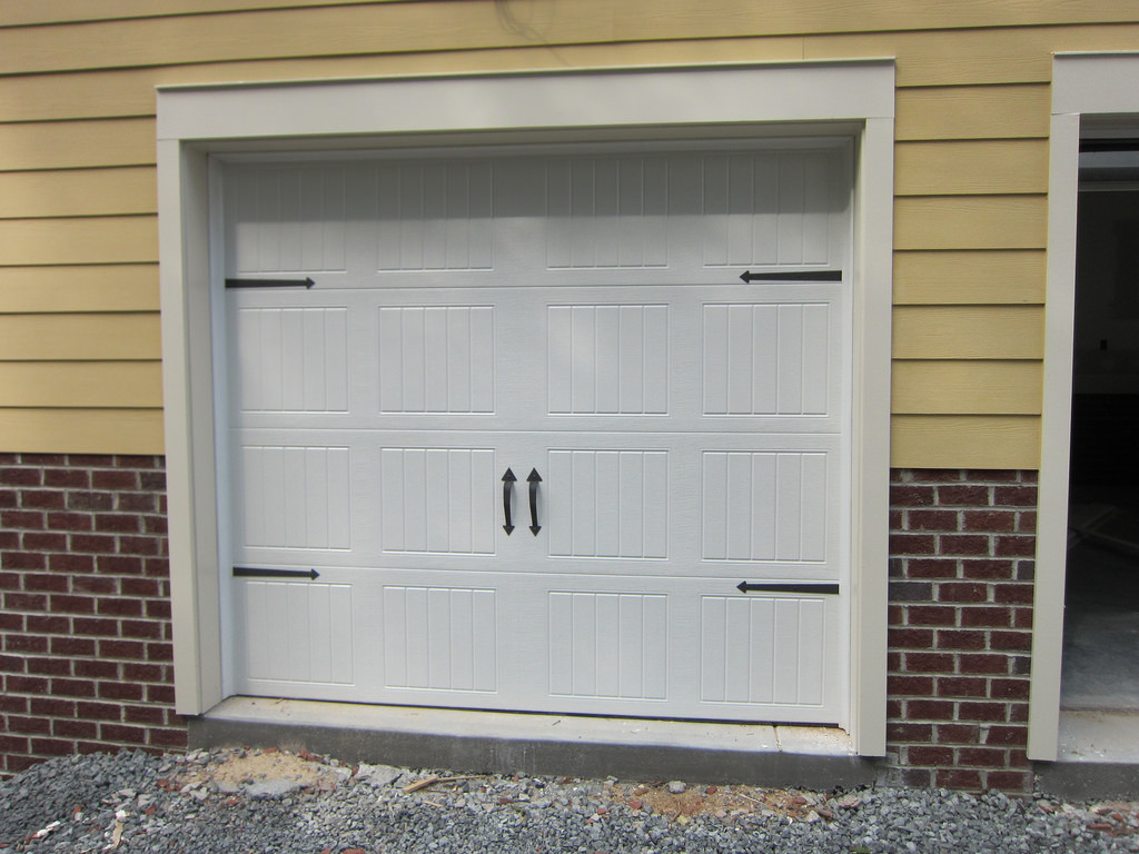 Carriage Style Garage Doors On A Home