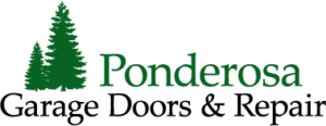 Ponderosa Garage Door Logo