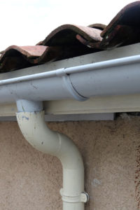 A garage door leak can sometimes fixed with a new seal.