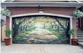 painted-garage-door