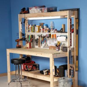 simple workbench plans free
