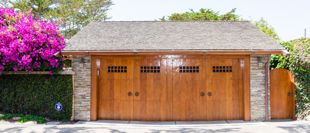 Wood garage doors are stylish and durable.