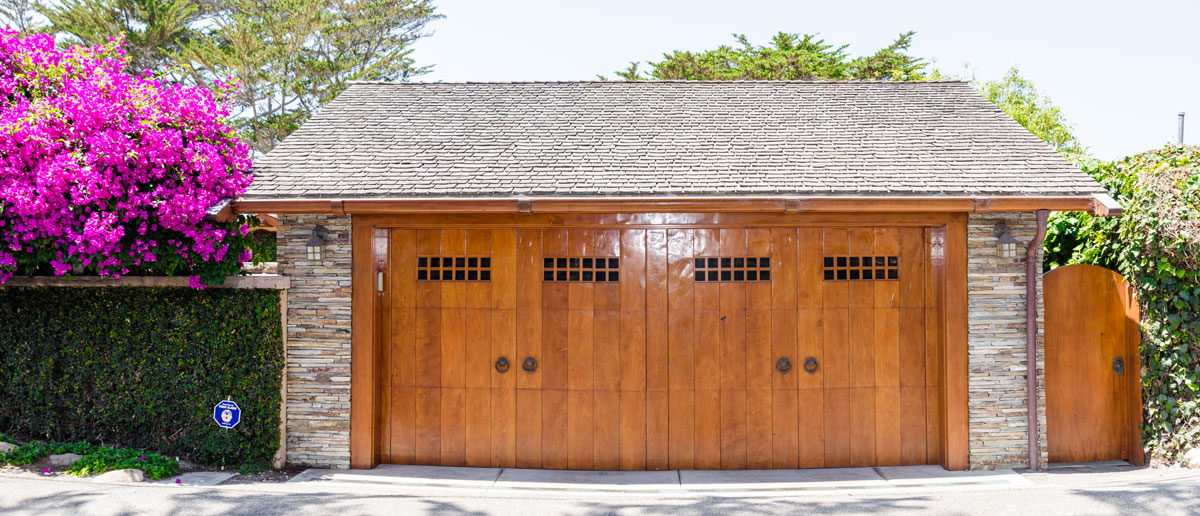 Wood garage doors are stylish and durable. : durable door - pezcame.com